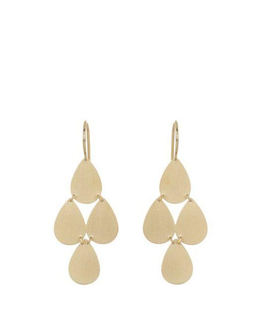 Irene Neuwirth - Metallic Yellow-gold Chandelier Earrings - Lyst