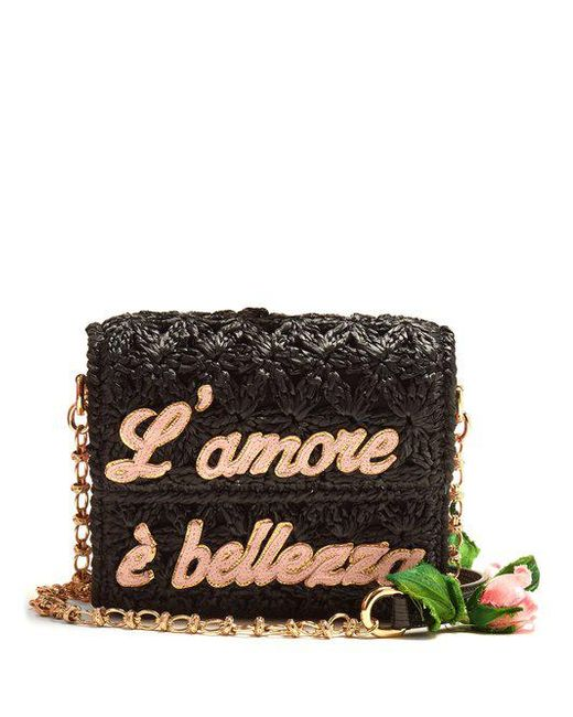 Lamore Rose cross-body bag Dolce & Gabbana MfdTJvY