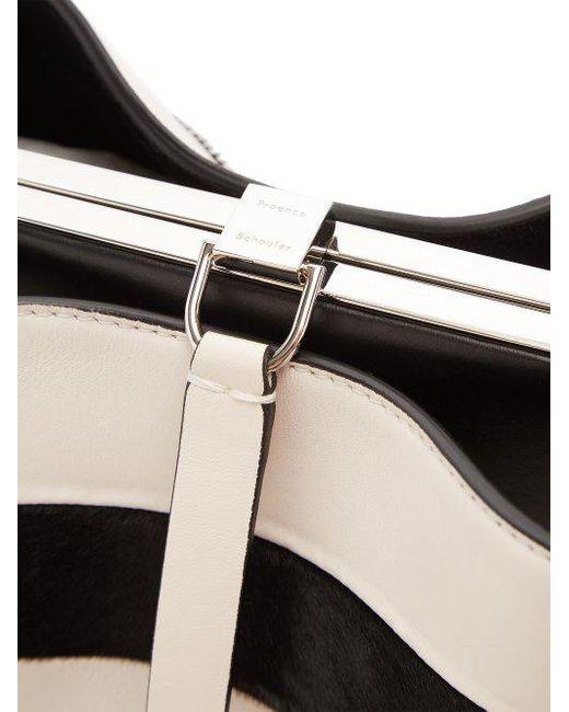 Frame striped shoulder-bag Proenza Schouler m6kEbe