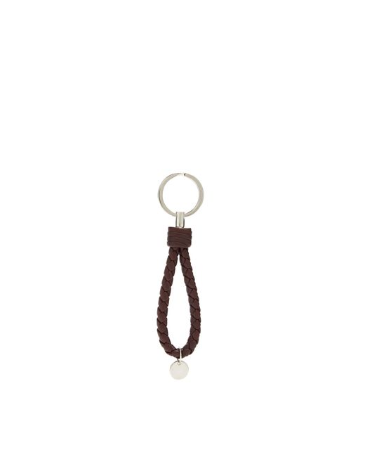 Bottega Veneta | Multicolor Intrecciato Leather Key Ring | Lyst