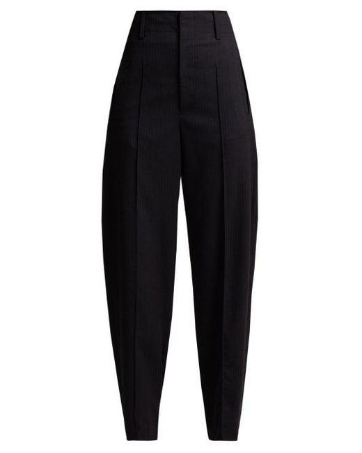 Isabel Marant - Blue Hami Striped Wool-blend Trousers - Lyst