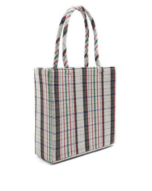 Cormac checked wool bag Shrimps CONZVy9