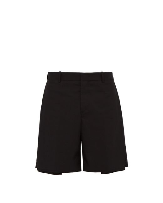 Wooyoungmi - Black Short taille mi-haute en coton stretch for Men - Lyst