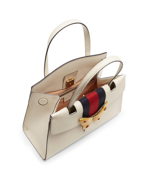 9c469c141b47 ... Gucci - Multicolor Totem Grained Leather Bag - Lyst ...