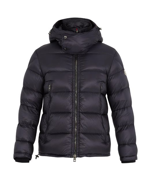 Moncler | Blue Pascal Quilted Down Jacket for Men | Lyst