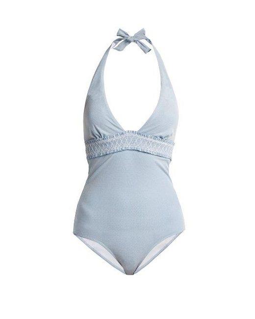 Heidi Klein - Blue Cassis Swimsuit - Lyst