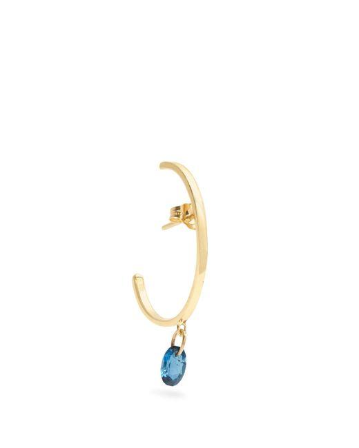 Loren Stewart - Blue Topaz & Yellow-gold Earring - Lyst