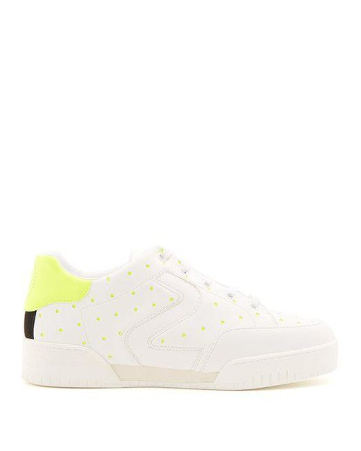 Sale 2018 New Polka-dot low-top faux-leather sneakers Stella McCartney Free Shipping Largest Supplier Outlet 100% Authentic Where Can You Find 5z96petL
