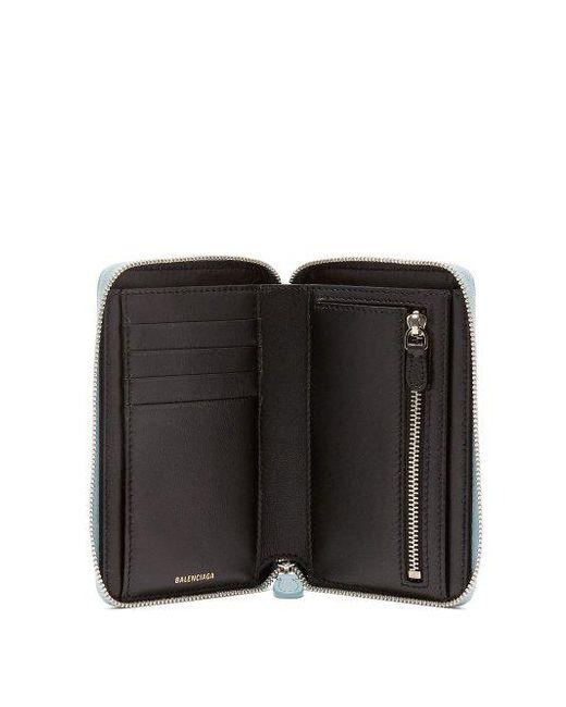Ville logo leather wallet Balenciaga cGs3JgfAxC