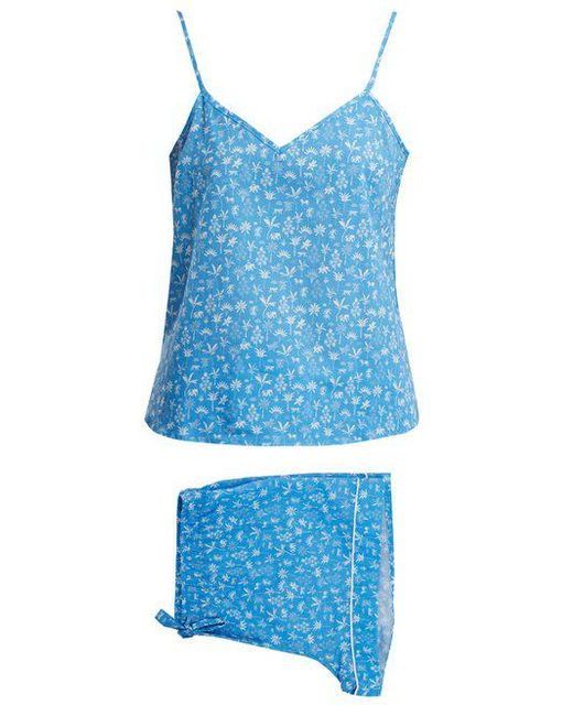 Cheap Low Shipping Fee Ledbury 8 tropical-print pyjama set Derek Rose With Credit Card Sale Online Shop For Dfn27LsC