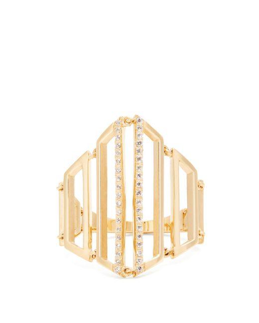 Susan Foster - Metallic Diamond & Yellow Gold Ring - Lyst