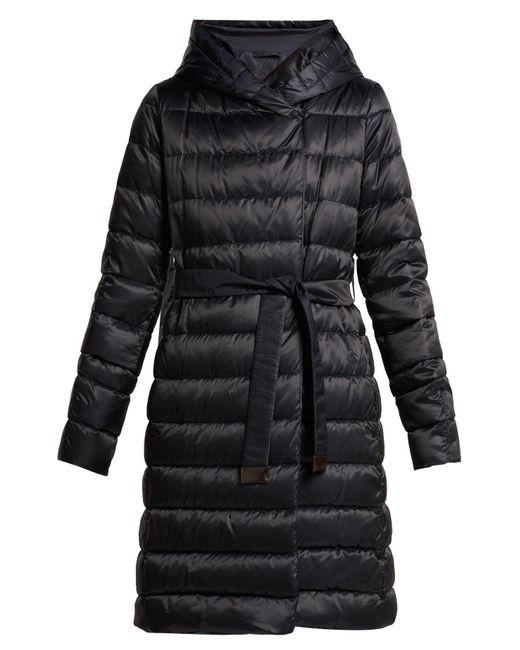 Max Mara Blue Novef Reversible Coat