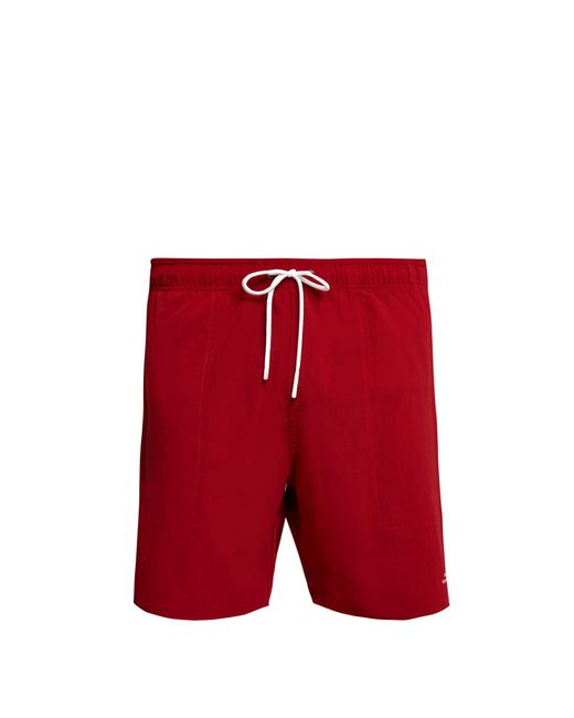 Saturdays NYC - Red Short de bain stretch Ritchie for Men - Lyst