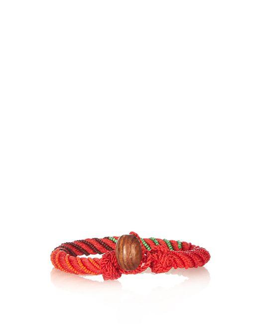 Aurelie Bidermann   Multicolor Maya Bead-embellished Bracelet   Lyst