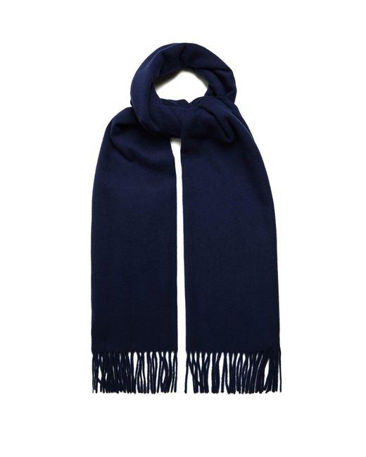 Acne - Blue Canada Fringed Wool Scarf for Men - Lyst