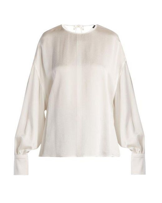 Free Shipping Pick A Best Sale Brand New Unisex Knox crepe satin blouse Joseph Cheap Supply Aaa Quality jra7oJUs