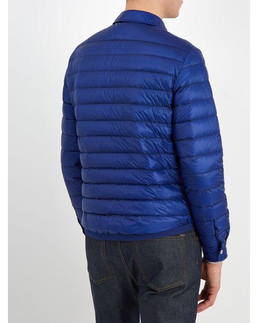 3ac2b9bc2890 Lyst - Veste matelassée Terence Moncler pour homme en coloris Bleu