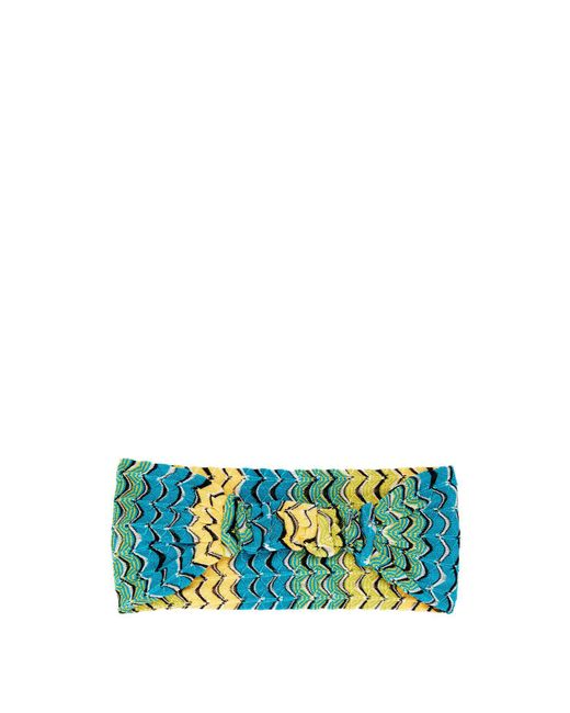 Missoni - Multicolor Fish Scale Knitted Headband - Lyst