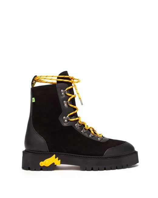 Off-White c/o Virgil Abloh Black Hiking Boot for men