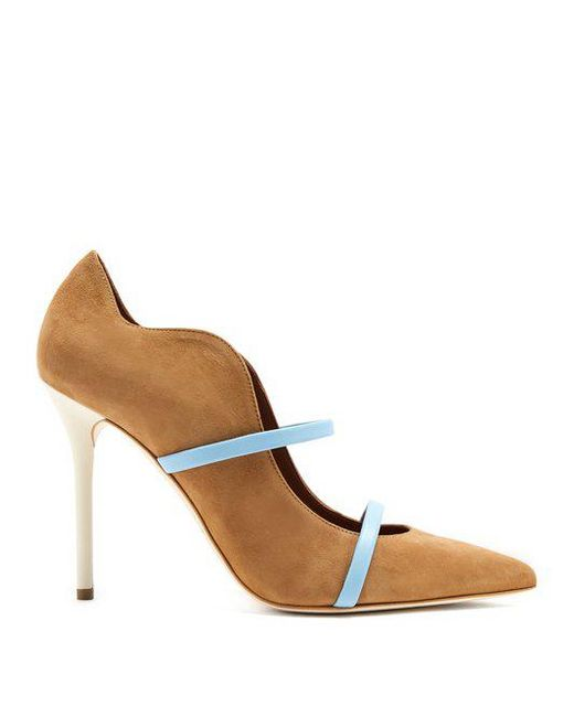 MALONE SOULIERS Maureen suede pumps For Sale Sale Online cAPoPW