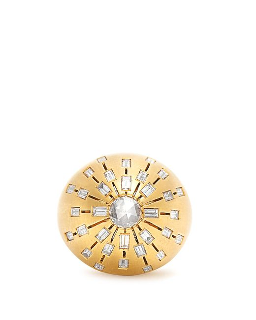 Susan Foster | Pink Diamond & Yellow-gold Ring | Lyst