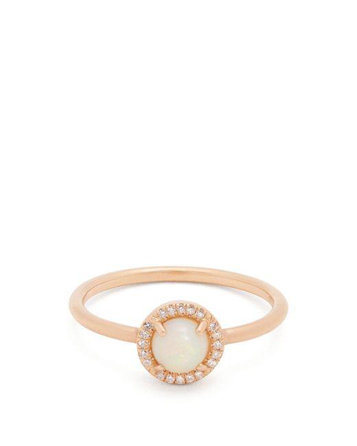 Irene Neuwirth - Metallic Opal & Rose Gold Ring - Lyst