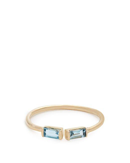 Loren Stewart - Blue Topaz & Yellow-gold Ring - Lyst