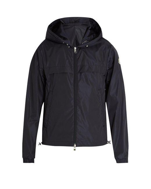 Moncler - Blue Gradignan Double Hooded Technical Jacket for Men - Lyst