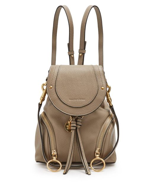 See By Chloé - Multicolor Olga Grained-leather Backpack - Lyst