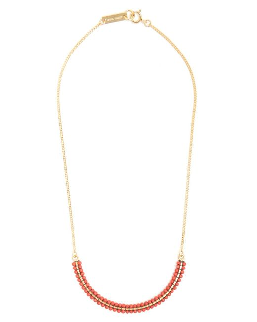 Isabel Marant - Multicolor Perky Ras De Cou Beaded Necklace - Lyst