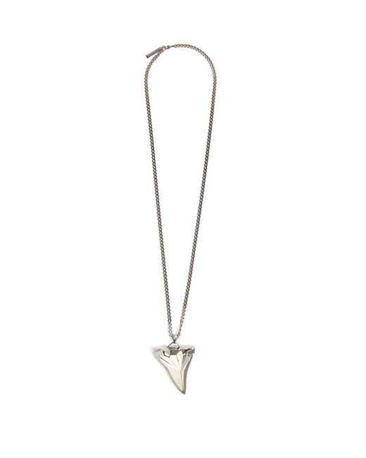 Givenchy | Metallic Shark's-tooth Necklace | Lyst