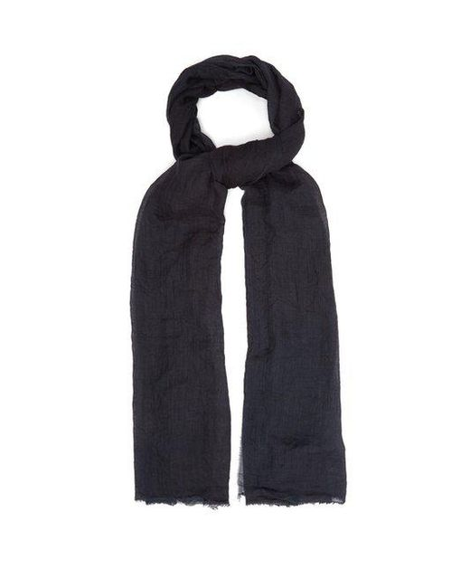 Title Of Work - Multicolor - Solid Cashmere Scarf - Mens - Black for Men - Lyst