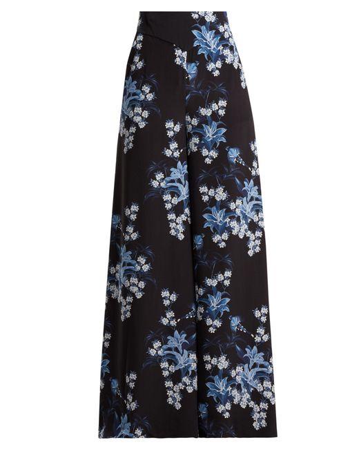 Johanna Ortiz - Blue Dream State Printed Silk Crepe Trousers - Lyst
