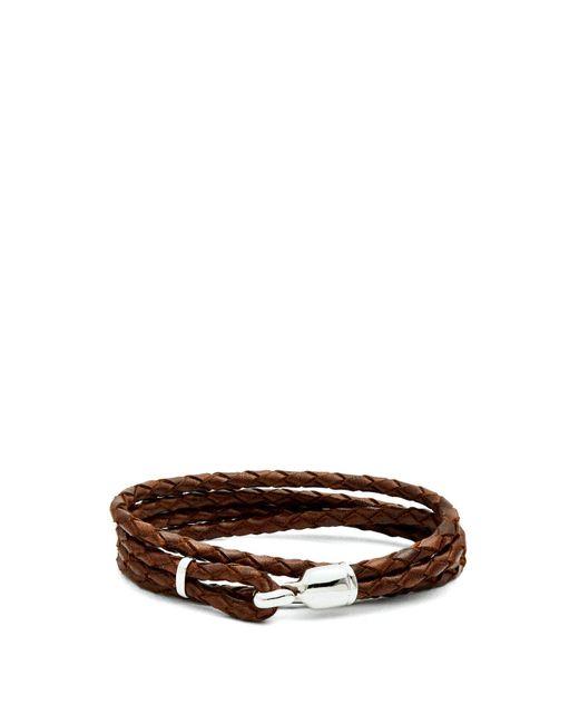 Miansai - Multicolor Trice Braided-leather Bracelet for Men - Lyst
