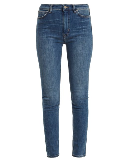 MiH Jeans - Blue Bridge High Rise Skinny Jeans - Lyst
