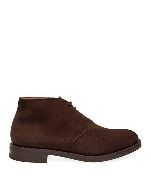 Church's - Brown Ryder 3 Suede Chukka Boots for Men - Lyst