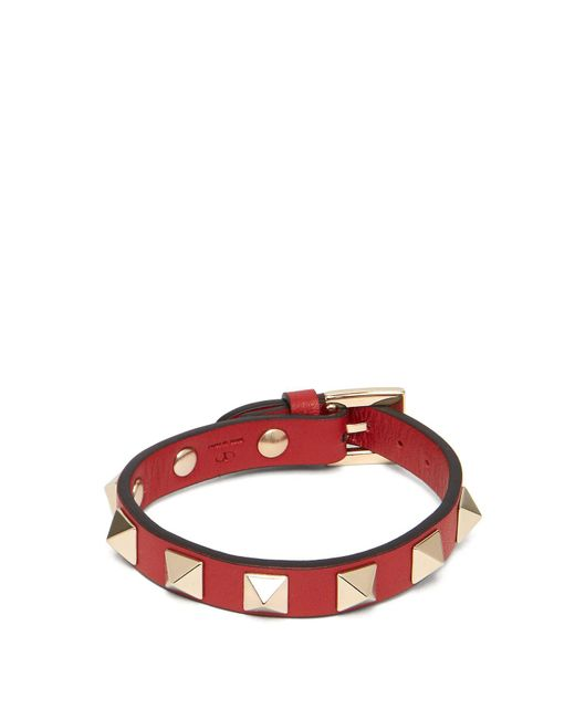 Valentino - Red Optical Print Scarf Straw Trilby Hat - Lyst
