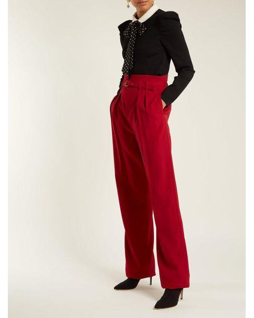 Polka-dot tie knitted top Red Valentino Huge Surprise Online EpCX1G