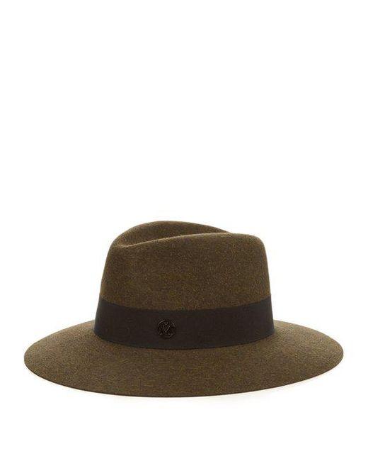 Maison Michel - Natural Rio Straw Hat - Lyst