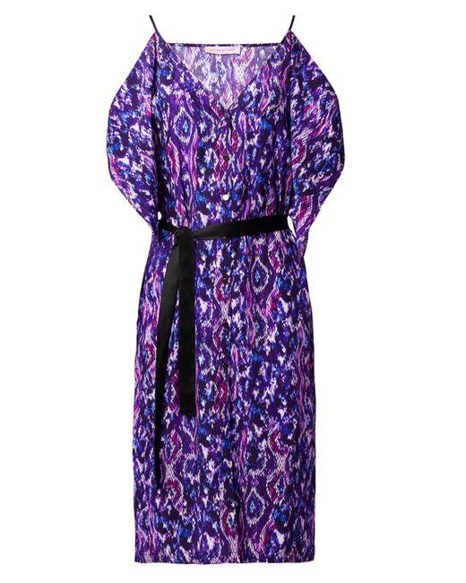 Matthew Williamson   Purple Flower Dress   Lyst