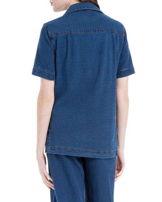 Leon max Indigo Shirt in Blue
