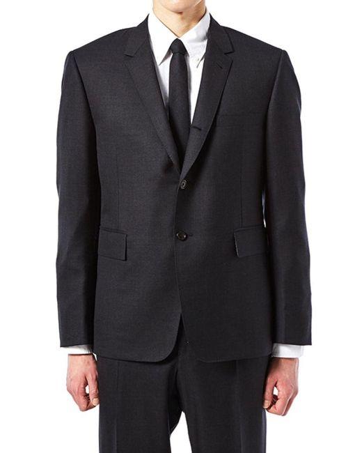 Thom Browne Black Cotton Suit for men