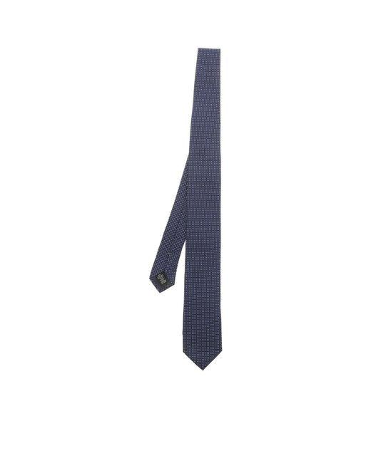 Ermenegildo Zegna - Blue Silk Tie for Men - Lyst