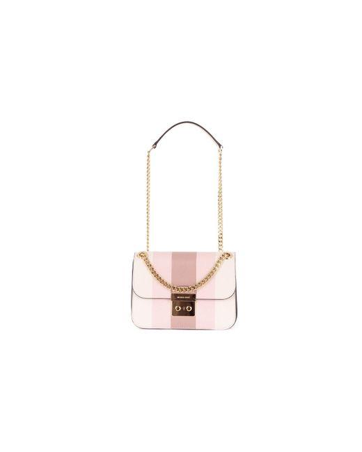 Michael Kors Pink Leather Shoulder Bag