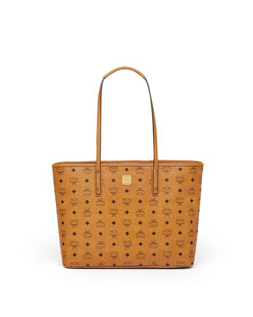 MCM | Multicolor Anya Top Zip Shopper | Lyst
