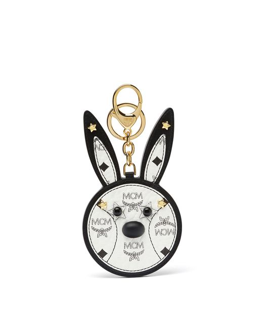 MCM | White Rabbit Mirror Charm | Lyst