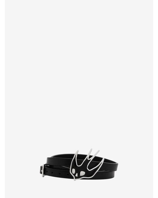 McQ Alexander McQueen | Black Swallow Triple Wrap Bracelet | Lyst