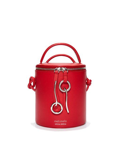 Meli Melo - Severine | Bucket Bag | Poppy Red - Lyst