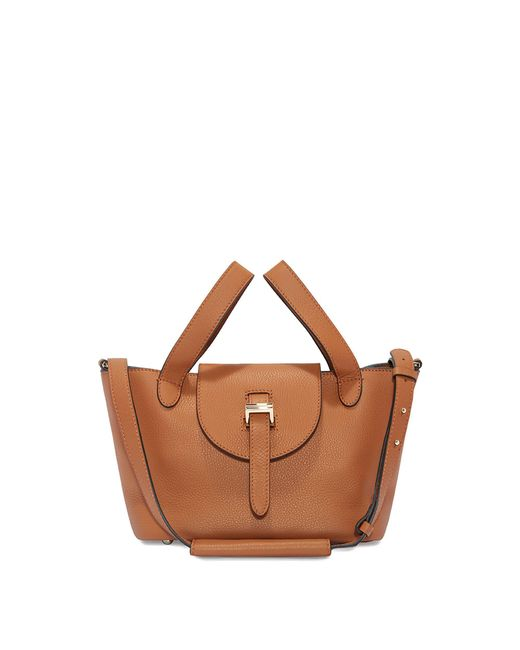 Meli Melo - Brown Thela Mini Cross Body Bag Bag Tan - Lyst