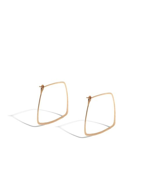 Melissa Joy Manning | Pink 1.2 Inch Trapezoid Hoops | Lyst